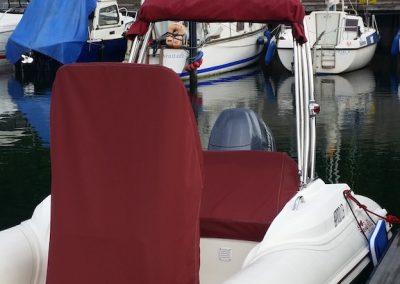 Abdeckungen Schlauchboot