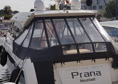 Cockpitpersenning Jeaneau Prestige 500S