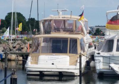 Motorboot Persenning
